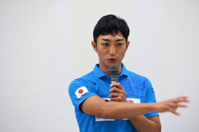 カヌー日本代表選手 河津聖駒さん
