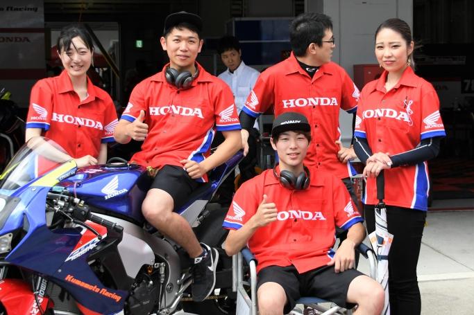 Honda緑陽会 熊本レーシングEWC(Goshi Racing田尻)