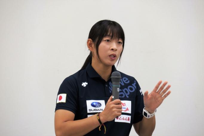 カヌー日本代表選手 高久瞳さん