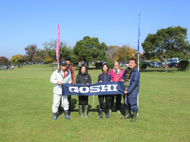 GOSHIで記念写真