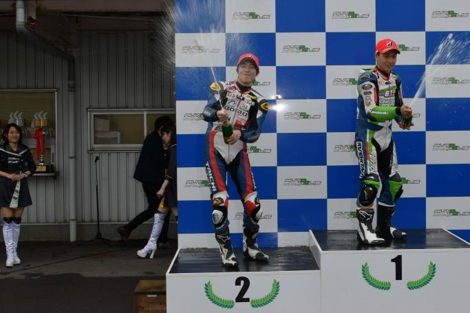 #54田尻 2位表彰台