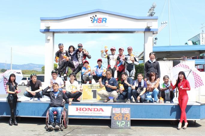 5位入賞のGOSHIチーム