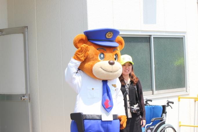 熊本県警シンボルマスコット「ゆっぴー」