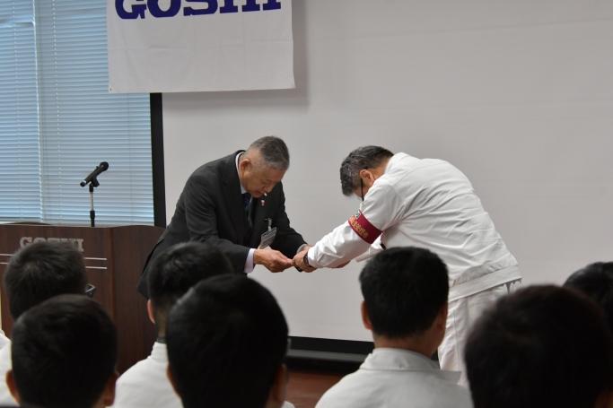 日本赤十字社様への寄付金贈呈